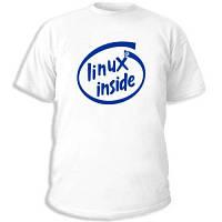 """Админские футболки """"Linux-inside"""""""