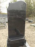 Памятник волна правая с фигурной промежуткой