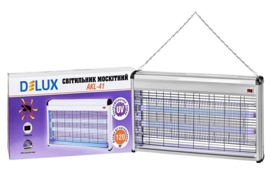 Світильник для знищення комах (протимоскітний світильник) 40W Delux AKL-41