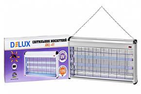 Світильник для знищення комах (протимоскітний світильник) 40W Delux AKL-41, фото 2