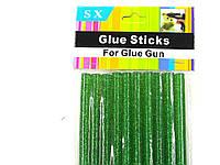 Стержни для клеевого пистолета 7 мм (зеленые), фото 1