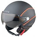 Шлем Nexx X60 Vision Vintage р.XXL, черно-оранжевый, фото 2
