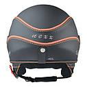 Шлем Nexx X60 Vision Vintage р.XXL, черно-оранжевый, фото 3