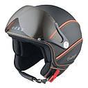 Шлем Nexx X60 Vision Vintage р.L, черно-оранжевый, фото 4