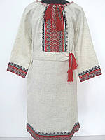 Плаття для дівчинки з вишивкою трьохчетвертний рукав d49da28e46982