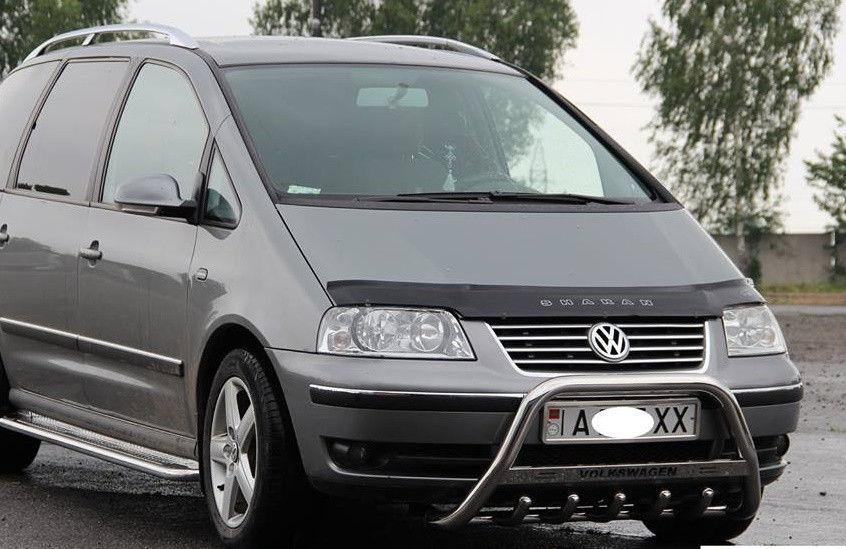 Volkswagen Sharan Дефлектор капота мухобойка для Фольксваген VOLKSWAGEN VW Sharan 2000-2010