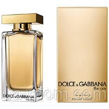 Dolce&Gabbana The One eau de toilette, женская туалетная вода 100 мл.