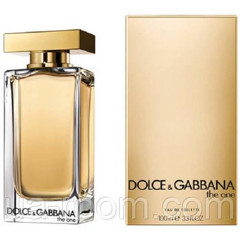 Dolce&Gabbana The One eau de toilette, женская туалетная вода 100 мл., фото 2