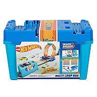 Трек Хот Вилс Hot Wheels Петля 3 в 1 Track Builder Multi Loop Box (FLK90)