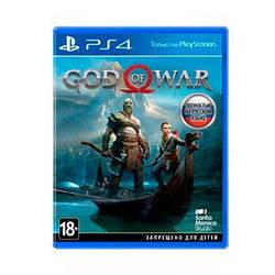 Гра Sony PS4 God of War 2018 російська версія