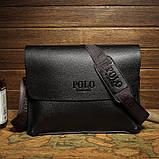 Чоловіча сумка велика Polo Vicuna A4, фото 4