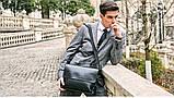 Чоловіча сумка велика Polo Vicuna A4, фото 6