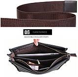 Чоловіча сумка велика Polo Vicuna A4, фото 10
