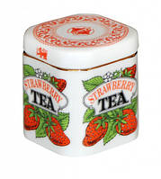 FLAVOUR TEA JAR 125g Фарфоровая Чайница