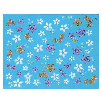 KATTi Наклейки клейкие Color Shine HSC 023 цветные блест, фото 2
