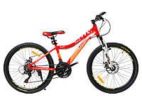 """Велосипед Starter Kelly Lady 24"""" красный, фото 1"""