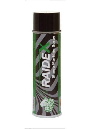 Краска-спрей Raidex для маркировки животных, 500 мл. Цвет- зелений (Германия), фото 2