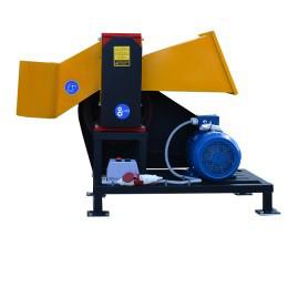 Подрібнювач гілок до 100 мм з електродвигуном 7,5кВт