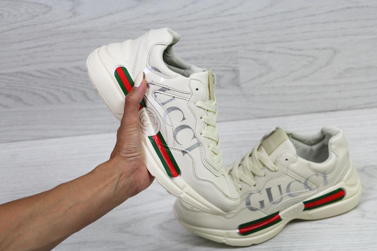 d82d3aad Женские кроссовки Gucci, белые (Реплика): продажа, цена в Днепре ...