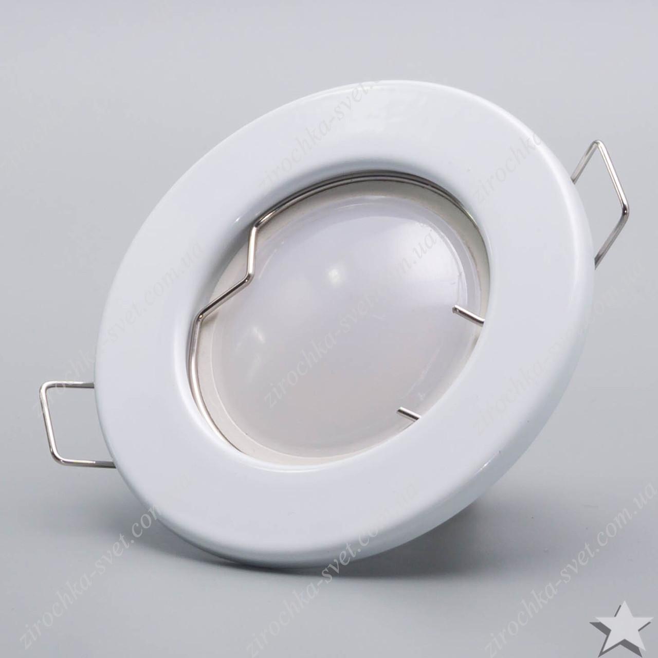 Светильник встраиваемый Feron DL10 белый под лампу MR16