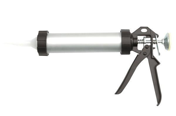 ШПРИЦ Масляный  универсальный VOREL Пистолет для герметиков, алюминиевый VOREL, 300 мл. 230 мм[10/20]
