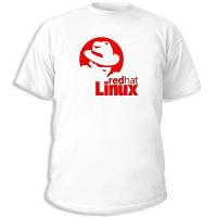 "Админские футболки ""Linux Redhat"""