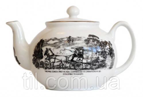 DENBY TEA POT 800ml Фарфоровый Чайник Денби