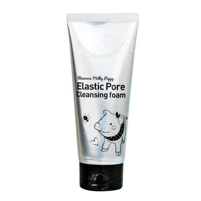 Очищающая поры пенка для умывания ELIZAVECCA Milky Piggy Elastic Pore Cleansing Foam - 120 мл
