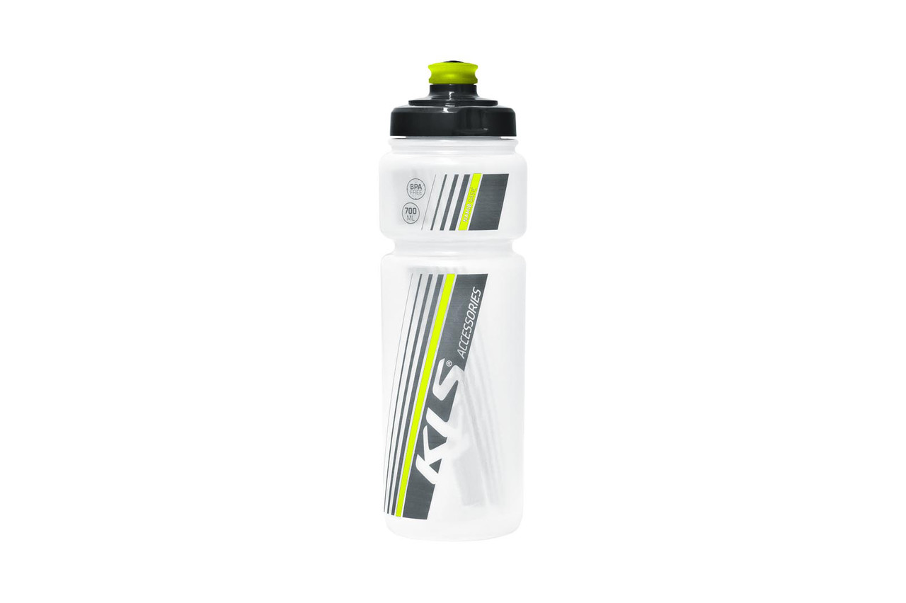 Фляга KLS Namib 700 ml clear-lime