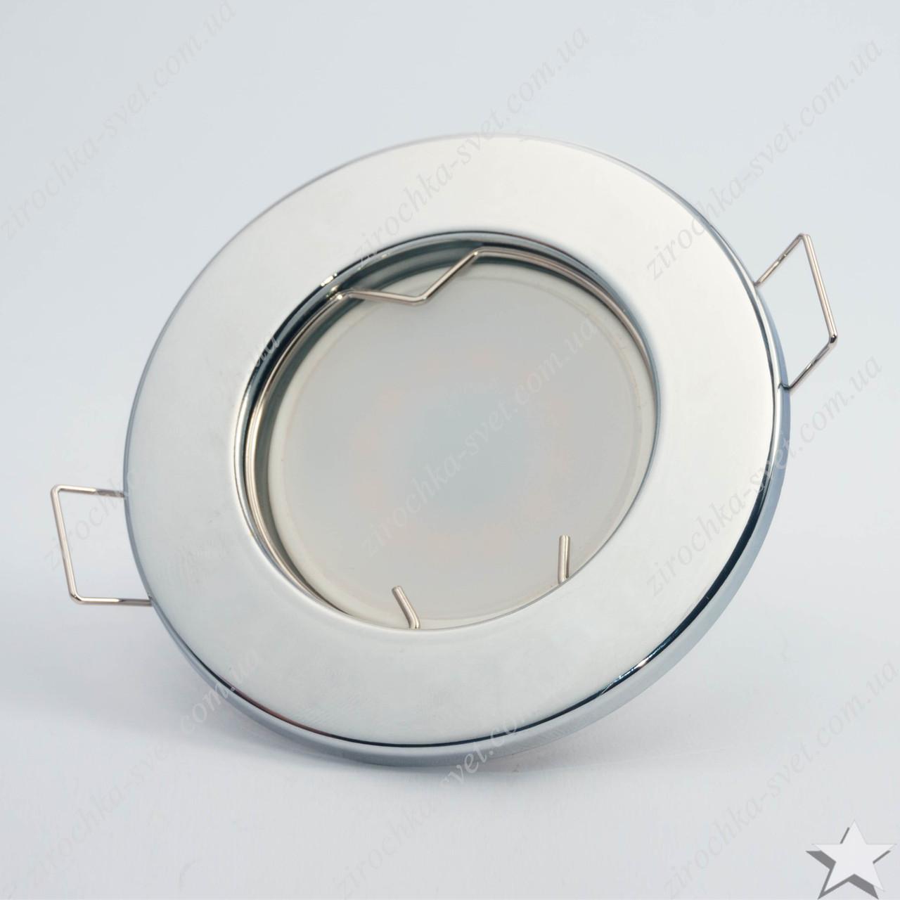 Светильник встраиваемый Feron DL10 хром под лампу MR16