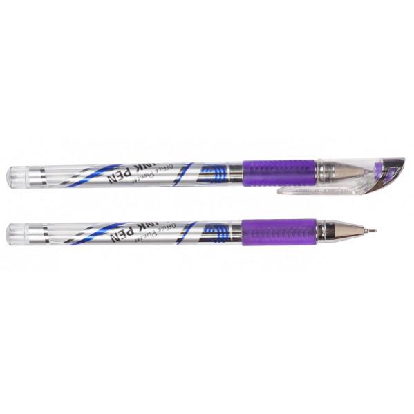 Ручка гелевая 601В фиолетовая