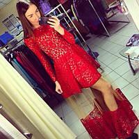 Вечерне-коктейльное платье со съемной юбкой лю825