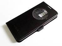 Чехол книжка с окошком momax для LG K8 k350e черный, фото 1