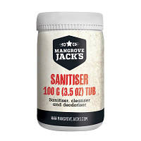 Средство для дезинфекции Mangrove Jack's Sanitizer Tub (100грамм)