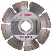 Алмазний відрізний круг Standard for Concrete 115 мм BOSCH, фото 1