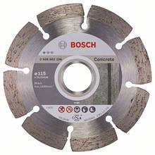Алмазний відрізний круг Standard for Concrete 115 мм BOSCH