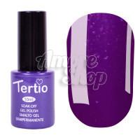 Гель-лак Tertio №176 (фиолетовый, микроблеск), 10 мл