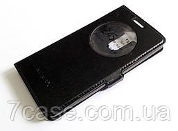 Чехол книжка с окошком momax для LG G3s (G3 mini) черный