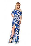 Длинное платье с открытыми плечами, фото 1