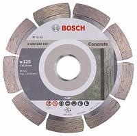 Алмазний відрізний круг Standard for Concrete 125 мм BOSCH, фото 1