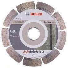 Алмазний відрізний круг Standard for Concrete 125 мм BOSCH