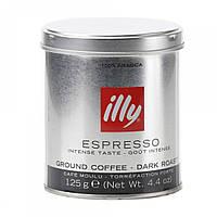 Кофе молотый Illy (темная обжарка), жб, 125 гр.