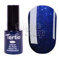 Гель-лак Tertio №181 (темный синий, микроблеск), 10 мл