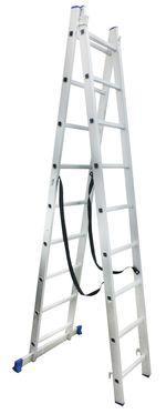 Лестница двухсекционная алюминиевая Werk 2х10