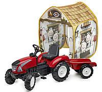 Трактор c прицепом Garden Master Falk 3021AT+ шатер