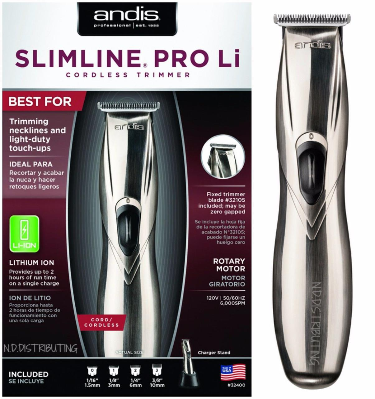 Триммер Andis Slimline Pro li D8 32445