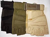Тактические безпалые перчатки BLACK HAWK (XL)