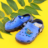 Детские кроксы на мальчика двухцветные тм Виталия р. 20-28,5,31-31,5