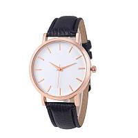 Часы женские наручные кварцевые Montre Femme Reloj Mujer c черным браслетом