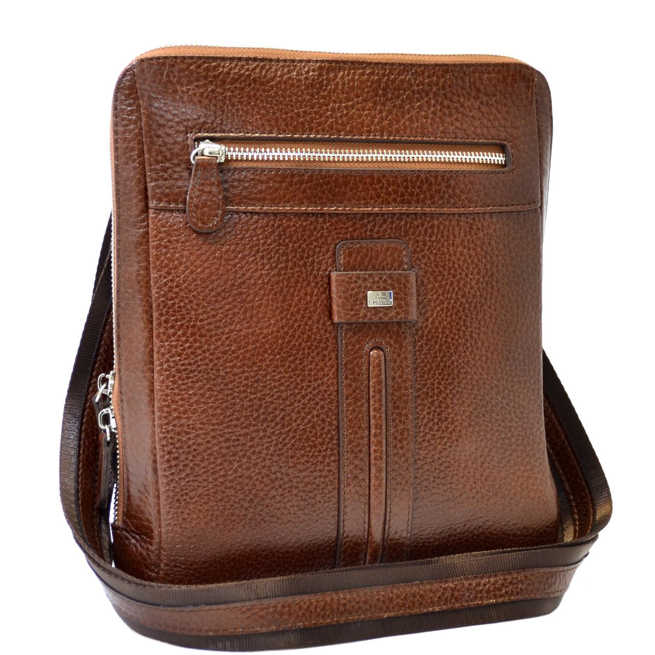 e535856fde26 Кожаная мужская сумка Desisan - Интернет-магазин